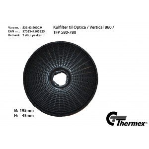 Thermex kolfilter 535.43.9000.9