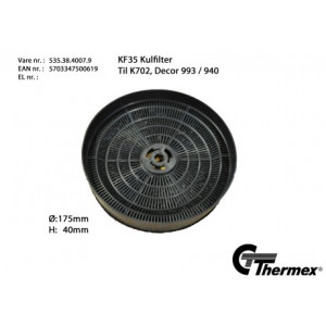 Thermex KF35 Kolfilter