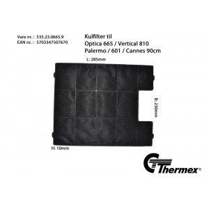 Thermex kolfilter 535.23.0665.9