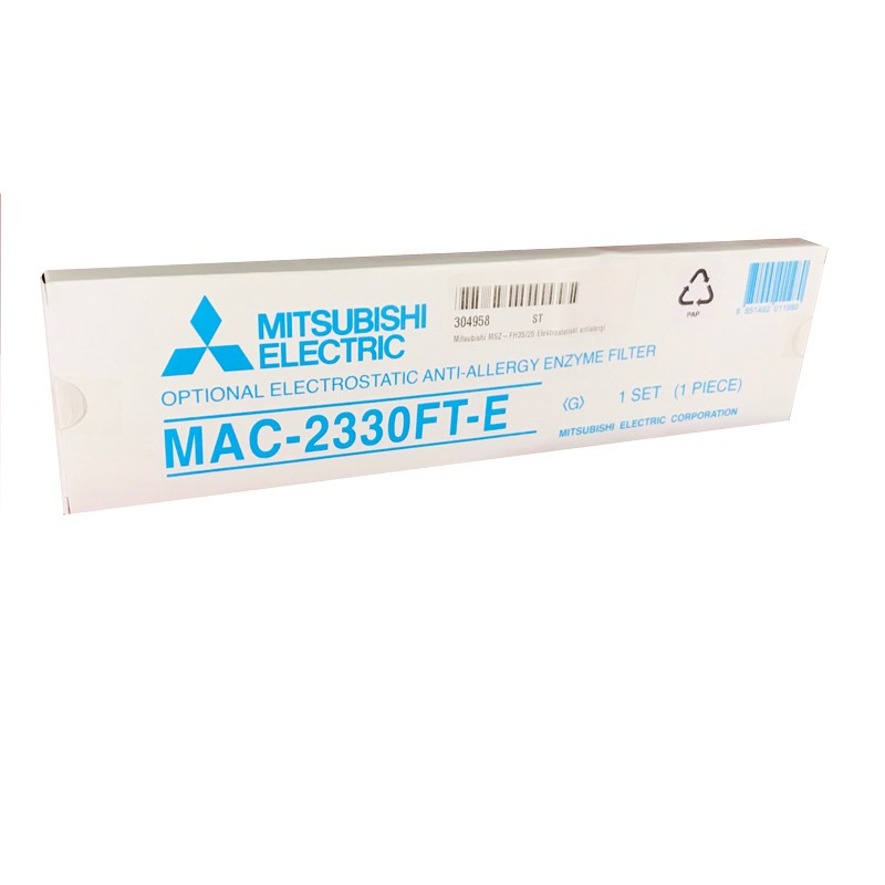 Mitsubishi MSZ-FH35 Elektrostatiskt antiallergiezymsfilter